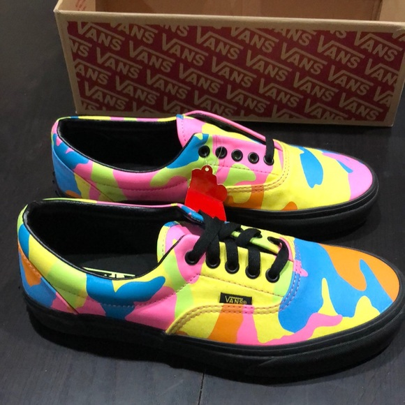 Vans Shoes   Vans Era Neon Camo Multi